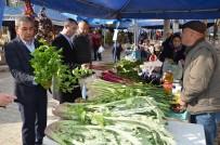 FIRAT ÇELİK - Başkan Nedim Kaplan Alışverişini Çakırbeyli Pazarından Yaptı