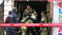 Bursa'da İş Hanında Yangın