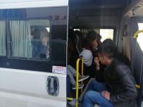 GÜLPıNAR - Çanakkale'de 55 Mülteci Yakalandı