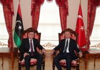 ULUSAL MUTABAKAT - Cumhurbaşkanı Erdoğan İle Libya Başbakanı Es-Serrac Görüşmesi Sona Erdi