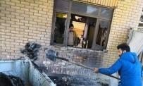 GÖZ YAŞARTICI GAZ - Irak'ın Vasit Kentindeki Protestolarda 40 Kişi Yaralandı