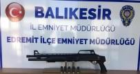 Polis Balıkesir'de 15 Silah Ele Geçirdi