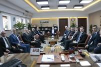 MEHMET AKARCA - Yargıtay Üyeleri Bursa Adalet Sarayını Ziyaret Etti