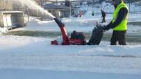 YEŞILKENT - 5 Gündür Kar Yağmayan İlçelerde Maçlar İptal Edildi