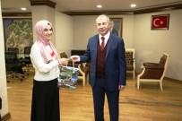 Artvin Valisi Doruk Ümmü Gülsüm'ü Makamında Kabul Etti