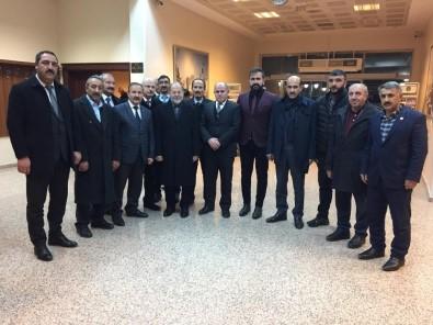 Aşkale Cumhur İttifakından Recep Akdağ'a Ziyaret