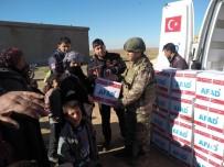 CEYLANPINAR - Barış Pınarı Harekatı Bölgesine İnsani Yardımlar Sürüyor