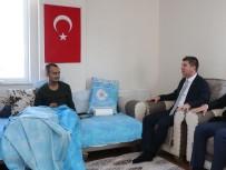 Başkan Ercengiz'den, Tel Abyad Gazisine Ziyaret