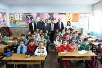 Başkan Ergin'den İlçedeki Okullara Yakın Takip