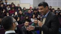 NECİP FAZIL KISAKÜREK - Başkan Kocaman, Öğrencilerle Buluştu