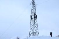 YOZGAT - Enerji Timlerinin Zorlu Kış Mesaisi