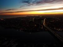 GÖKYÜZÜ - İstanbul Semalarında Gün Batımı Hayran Bıraktı