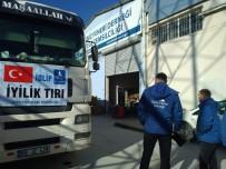 CİLVEGÖZÜ SINIR KAPISI - İzmir'den İdlib'e Yardım Eli