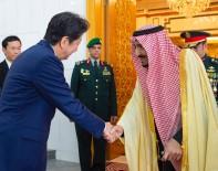 JAPONYA BAŞBAKANI - Japonya Başbakanı Abe, Suudi Kralı Selman İle Görüştü