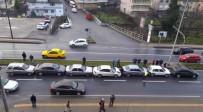 Kdz. Ereğli'de Zincirleme Kaza Açıklaması 7 Araç Birbirine Girdi