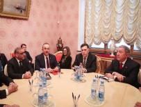 MEVLÜT ÇAVUŞOĞLU - Moskova'da Libya toplantısı sona erdi