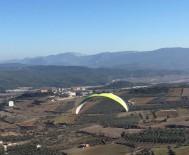 YAMAÇ PARAŞÜTÜ - Osmaneli'nde Yamaç Paraşütü Uçuş Denemeleri Başladı