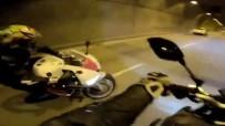 (Özel) Dolmabahçe Tüneli'nde 'Drift' Kazası Kamerada