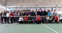 TENİS TURNUVASI - Şanlıurfa'da 2020'Nin İlk Tenis Turnuvası Düzenlendi