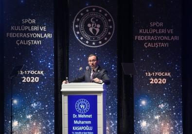 Spor Kulüpleri Ve Federasyonları Yasası Meclis Gündemine Giriyor