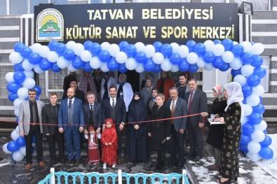 Tatvan Belediyesi Kültür, Sanat Ve Spor Merkezi Açıldı