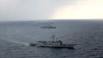 İTALYAN - Türk Deniz Grubu'ndan Orta Akdeniz'de Geçiş Eğitimi