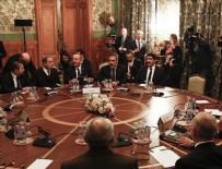 MEVLÜT ÇAVUŞOĞLU - Türk ve Rus heyetlerin Libya'da kalıcı ateşkes için Moskova'daki görüşmesi başladı