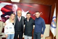 MİLLİ FUTBOLCU - Zonguldaklı Milli Futbolcu Ece Türkoğlu;