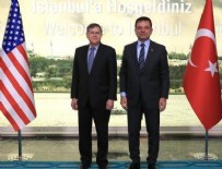 ABD Büyükelçisi'nden İmamoğlu'na ziyaret!