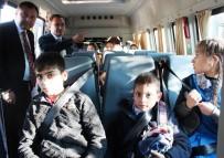 TAŞIMALI EĞİTİM - Alaşehir'de Öğrenci Servislerine Denetleme