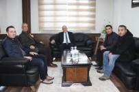 YEŞILAY - Arif Akcan'dan Başkan Pekmezci'ye Ziyaret
