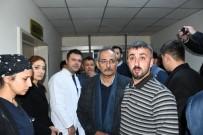 Başkan Bozdoğan, Patlama Haberinin Ardından Hastaneye Gitti