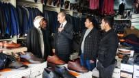 SINIR KAPISI - Başkan Yalçınkaya Mesaiye Esnaf Ziyaretleriyle Başladı