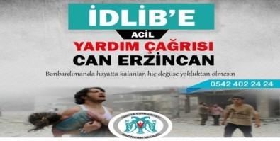 Erzincan'da İdlib İçin Yardım Seferberliği Başlatıldı