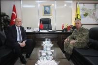 GARNİZON KOMUTANI - Garnizon Komutanı Diker'den Başkan Pekmezci'ye Ziyaret