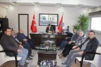 Gazetecilerden Emniyet Müdürü Karabulut'a  Ziyaret