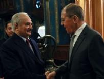 MEVLÜT ÇAVUŞOĞLU - General Hafter ateşkes anlaşmasını imzalamadan Rusya'yı terk etti
