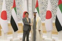 JAPONYA BAŞBAKANI - Japonya Başbakanı, Abu Dabi Veliaht Prensi İle Görüştü