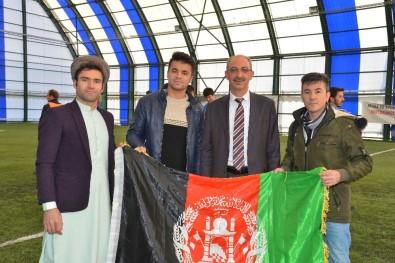 KAEÜ'sinde Uluslararası Öğrenci Futbol Turnuvası Yapıldı