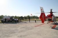 Kalp Krizi Geçiren Hasta Hava Ambulansı İle Taşındı