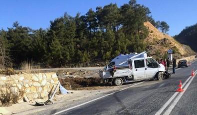 Kavaklıdere'de Kaza Açıklaması 3 Yaralı