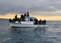 KUZEY KıBRıS TÜRK CUMHURIYETI - KKTC Açıklarında 34 Mülteci Yakalandı