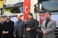 İÇ SAVAŞ - Osmangazi'den Suriye'ye Yardım TIR'ı