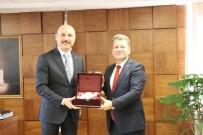 GENEL BAŞKAN - ÖSYM Başkanı Aygün, Türk Eğitim-Sen Genel Merkezini Ziyaret Etti