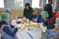 Özel Çocuklardan Pasta Yapma Etkinliği