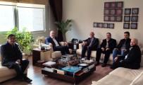 MUSTAFA ÖZTÜRK - Öztürk'ten BGC'ye Ziyaret