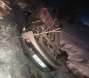 TRAFIK KAZASı - Tavşanlı'da Trafik Kazası Açıklaması 1 Yaralı