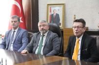 HITIT ÜNIVERSITESI - Telsiai Ve Szarvas Belediye Başkanları'ndan Aşgın'a Ziyaret