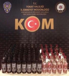 Tokat'ta Kaçak İçki Operasyonu