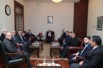 GENEL BAŞKAN - Vali Çakacak, Memur-Sen Genel Başkanı Yalçın'ı Kabul Etti